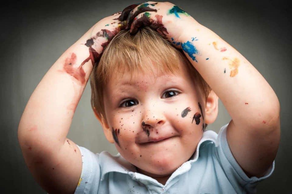 Ce qu'un enfant de 4 ans devrait savoir 4 ans Ce qu'un enfant de 4 ans devrait savoir peinture d  g  t 960x638