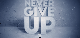never give up? Non merci!