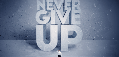 Read more about the article Never give up? Non merci