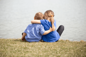 la compassion et l'empathie et la compassion d'un enfant
